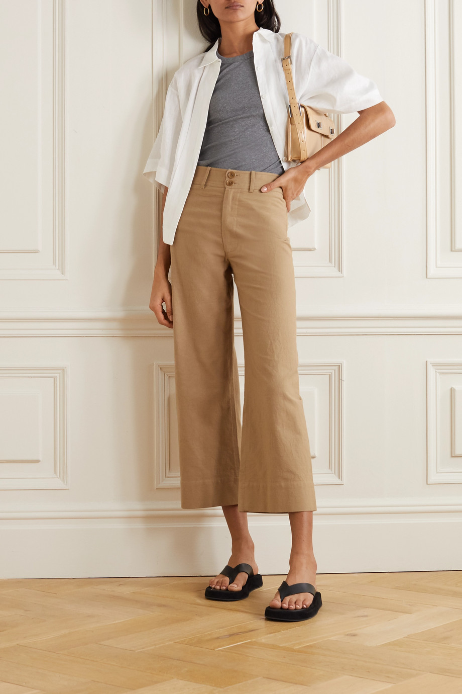 APIECE APART Merida cotton straight-leg pants