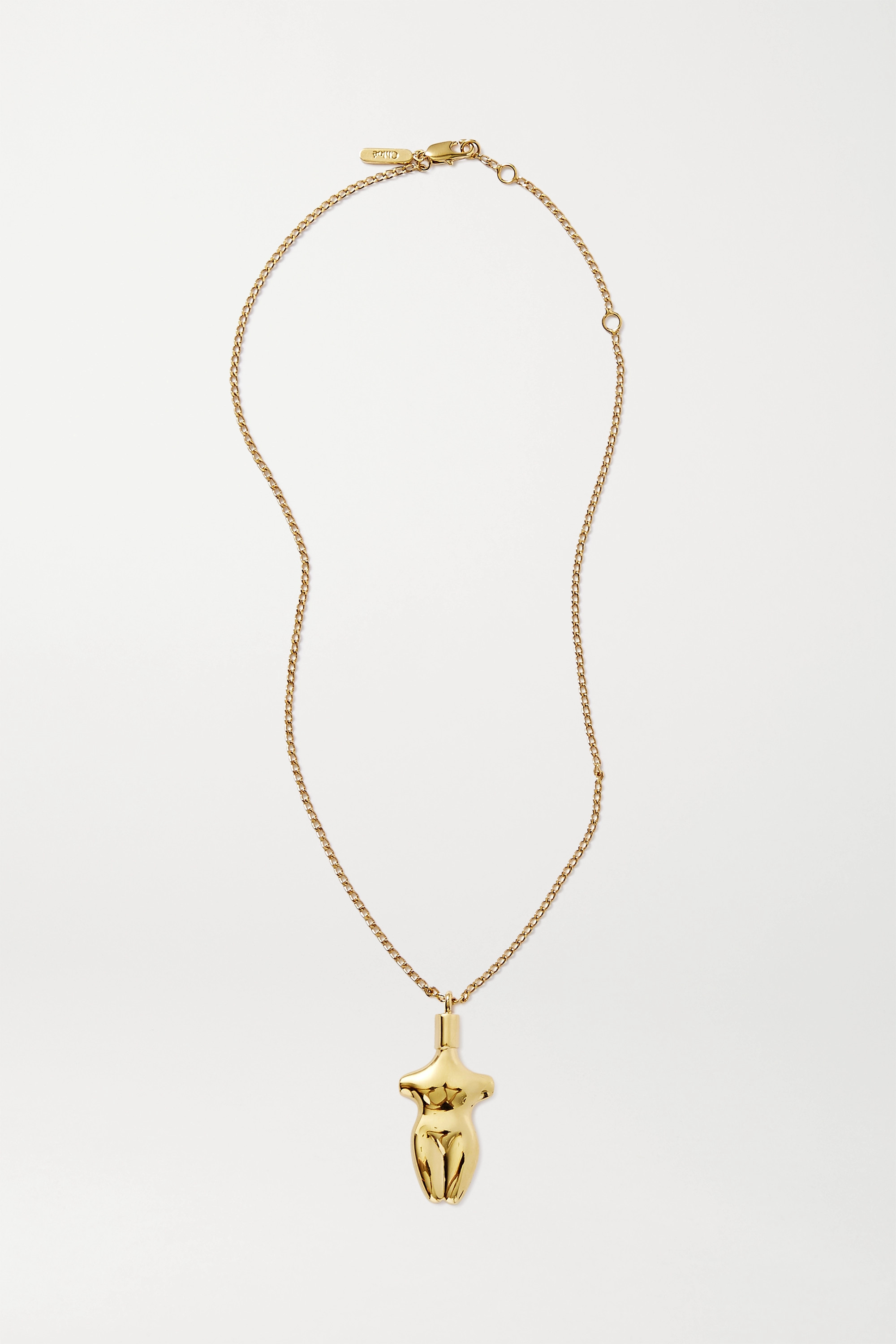 Chloé Femininities gold-tone necklace