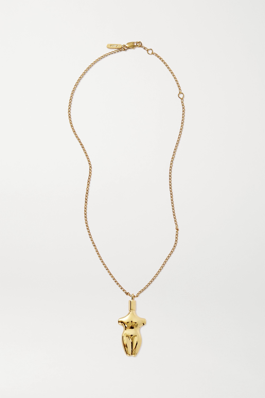 Chloé Femininities gold-tone necklace