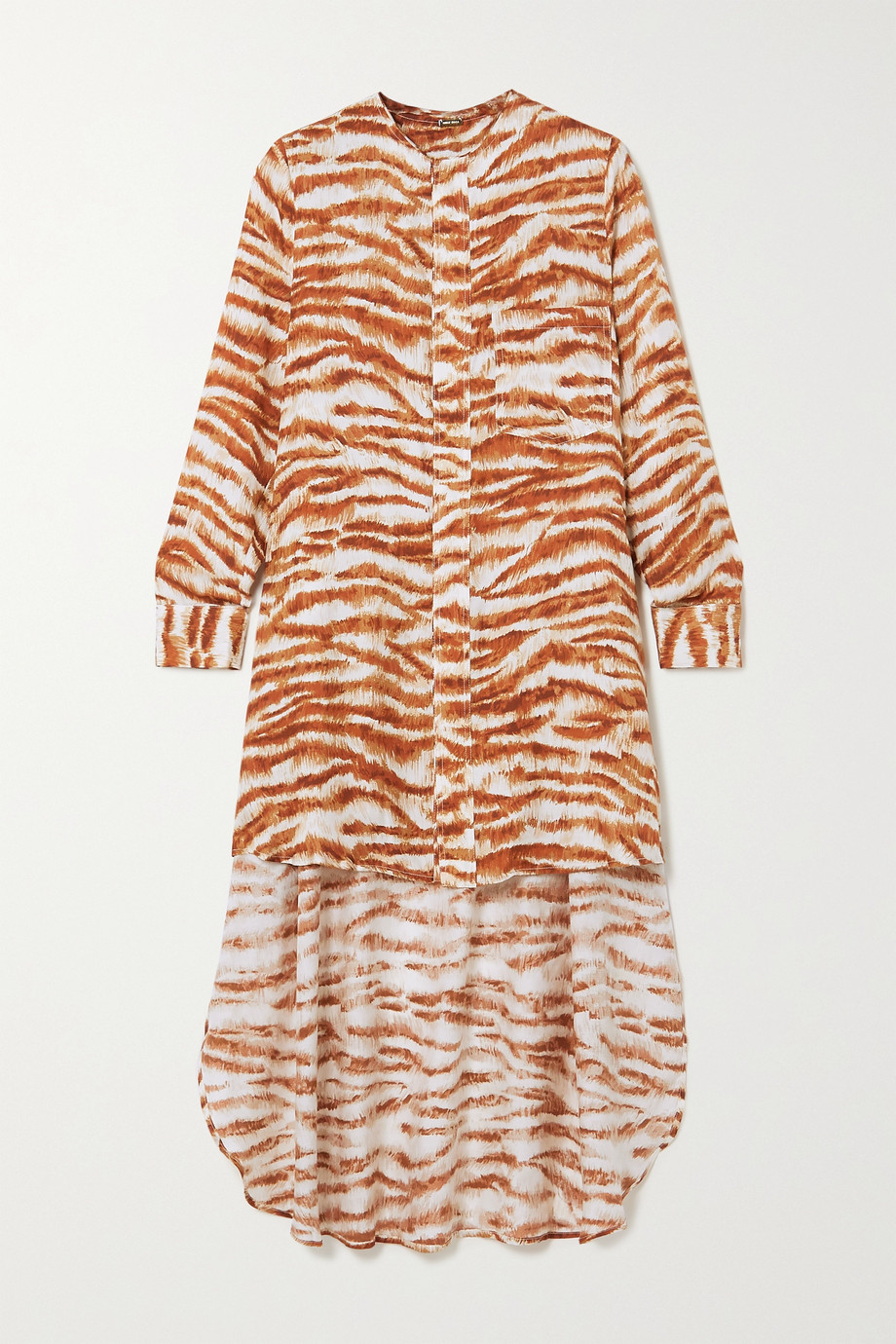 Cult Gaia Thessaly printed jersey tunic