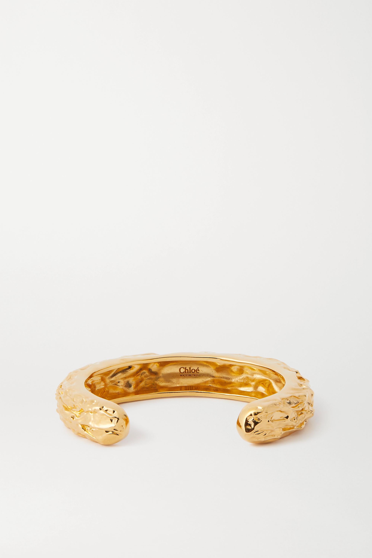 Chloé Gold-tone cuff