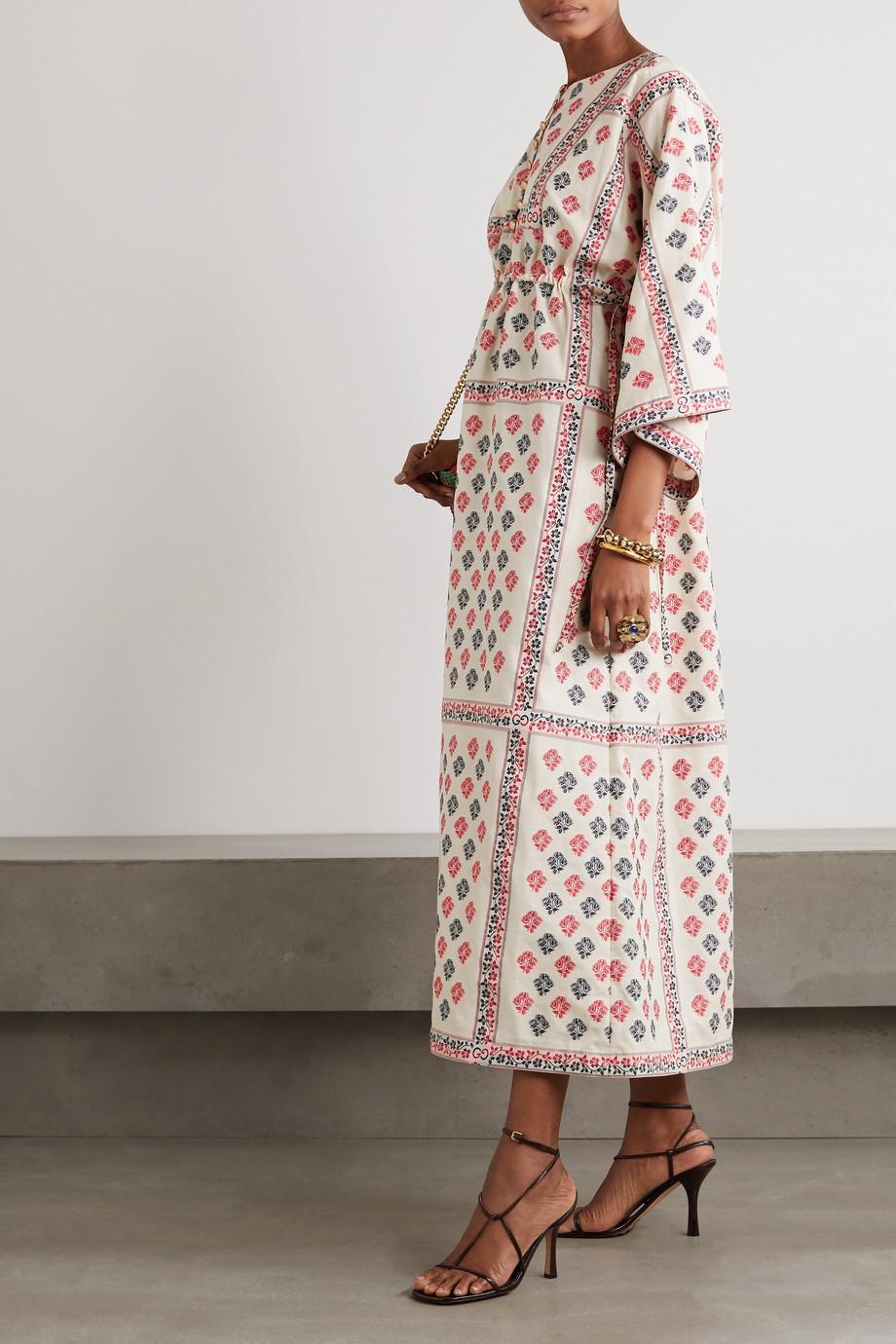 Gucci Kaftan aus Jacquard aus einer Baumwollmischung