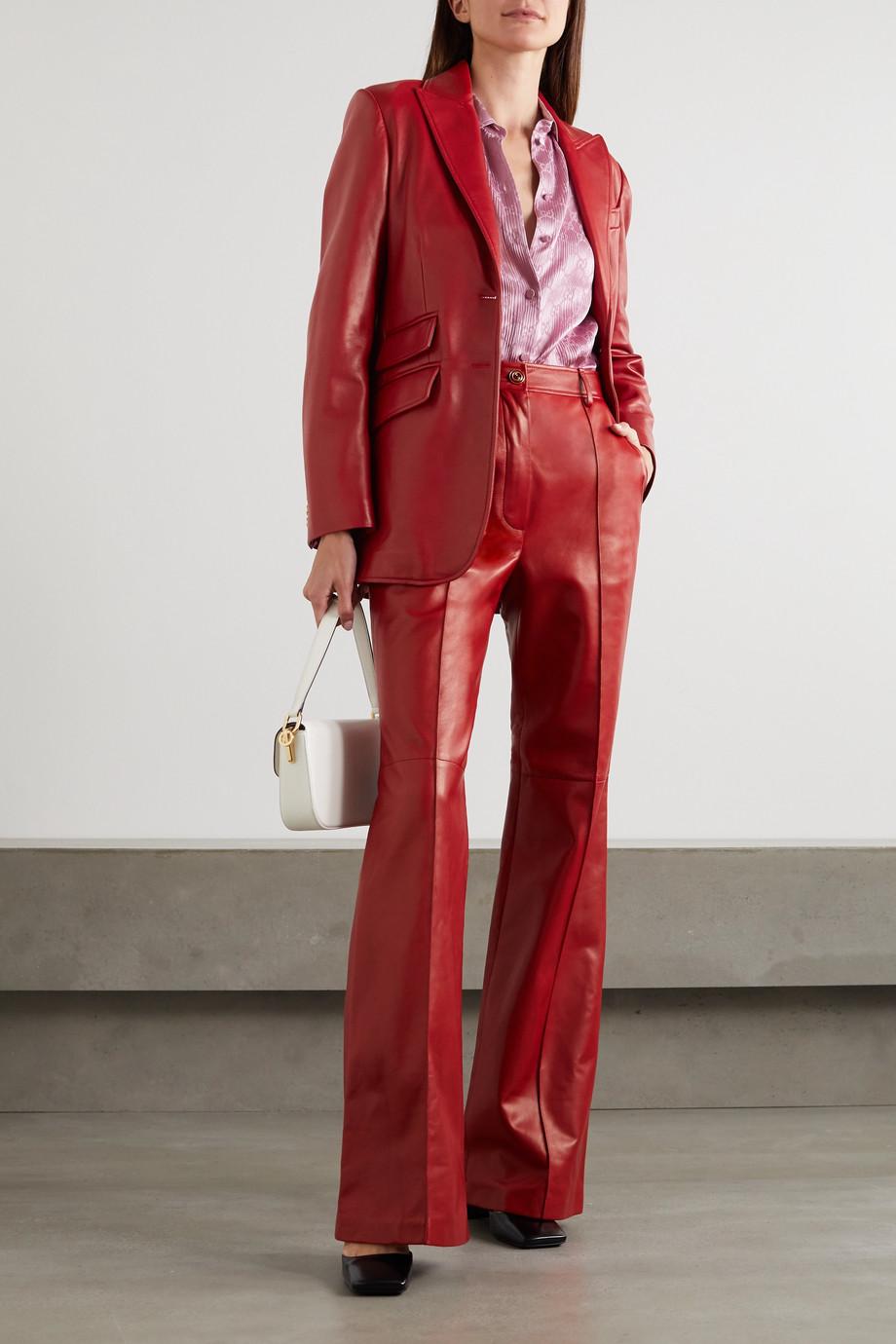 Gucci Blazer aus Leder