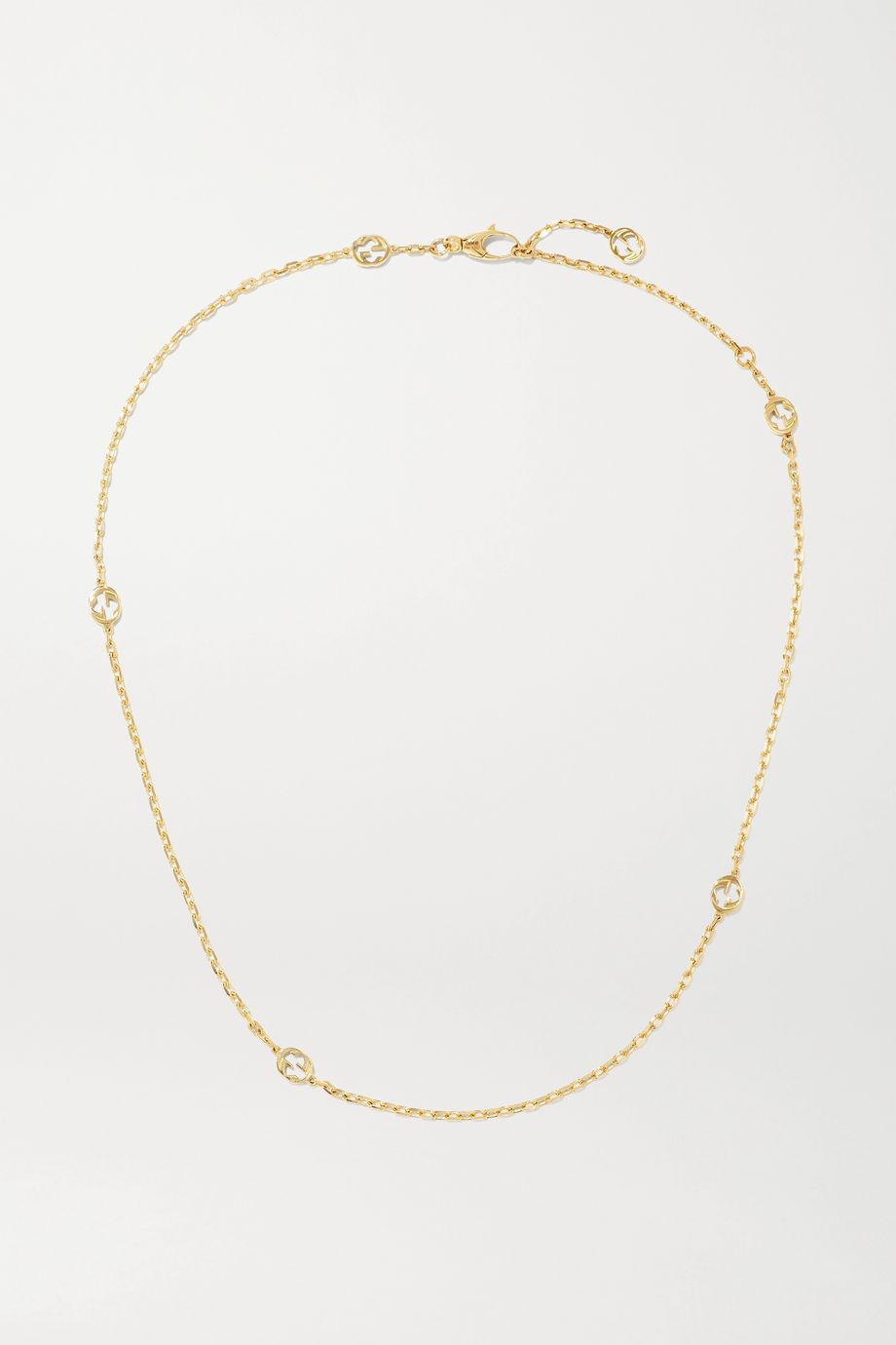 Gucci 18-karat gold necklace