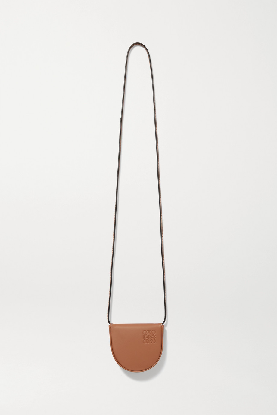 Loewe Heel mini leather pouch