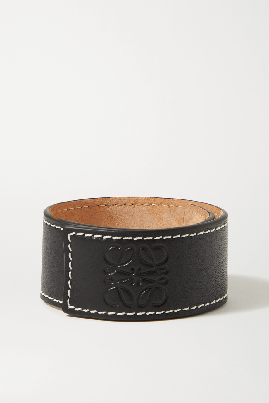 Loewe Embossed leather bracelet