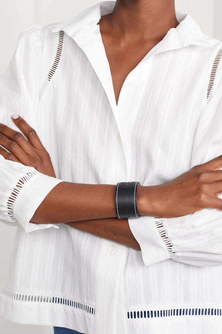 Loewe Armband aus geprägtem Leder