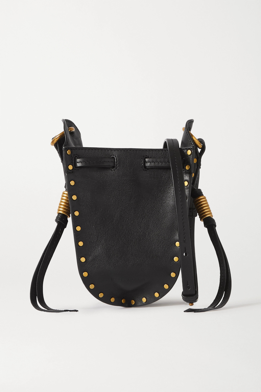 Isabel Marant Radji studded leather bucket bag