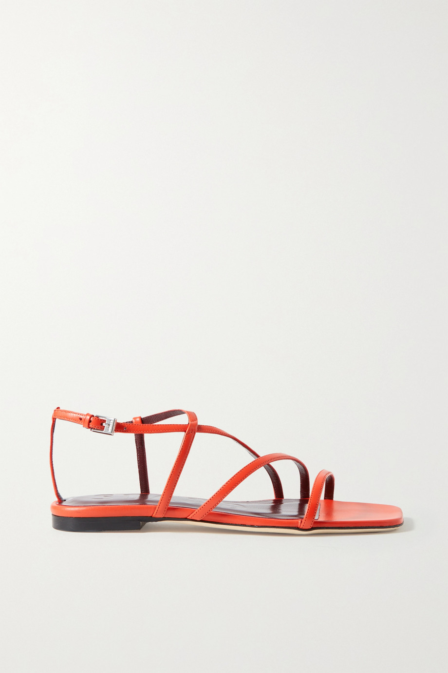 STAUD Gitane leather sandals