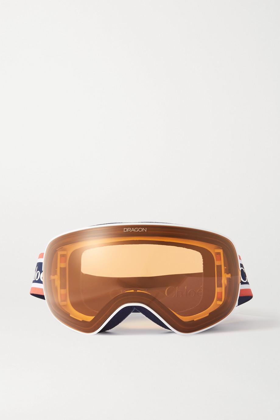 Chloé + Dragon Cassidy ski goggles