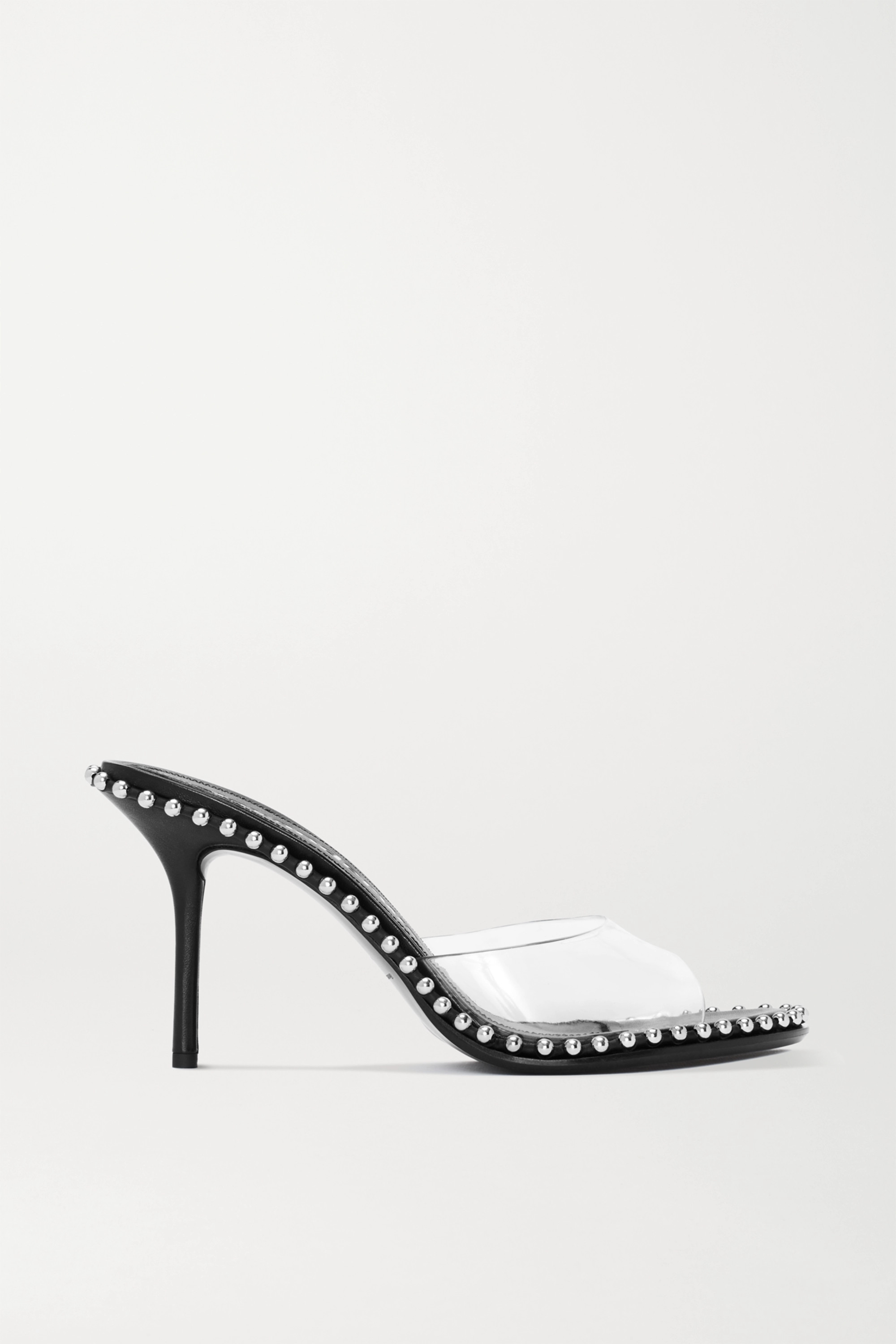 Alexander Wang Nova studded leather and PVC sandals