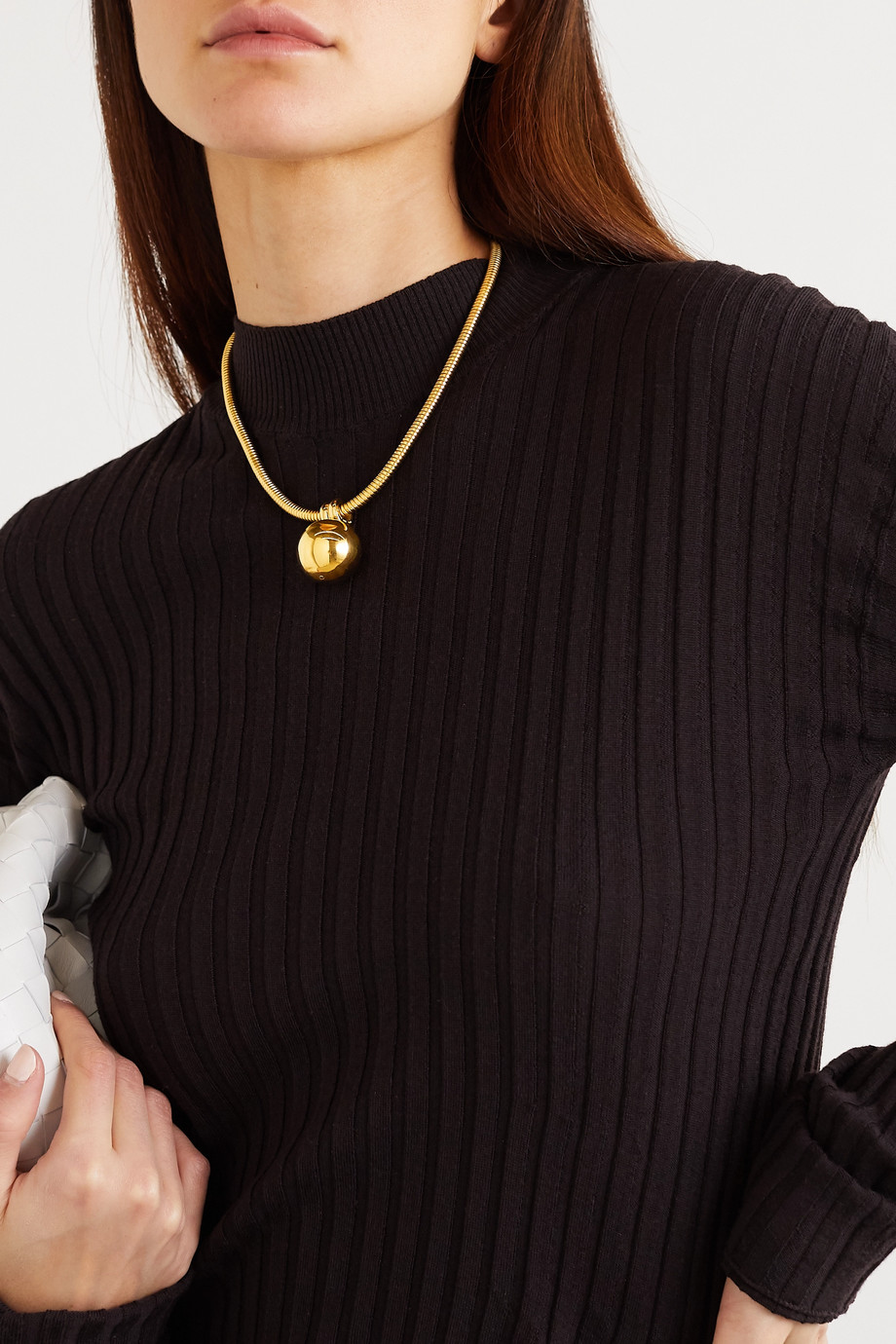 Bottega Veneta Gold-tone necklace
