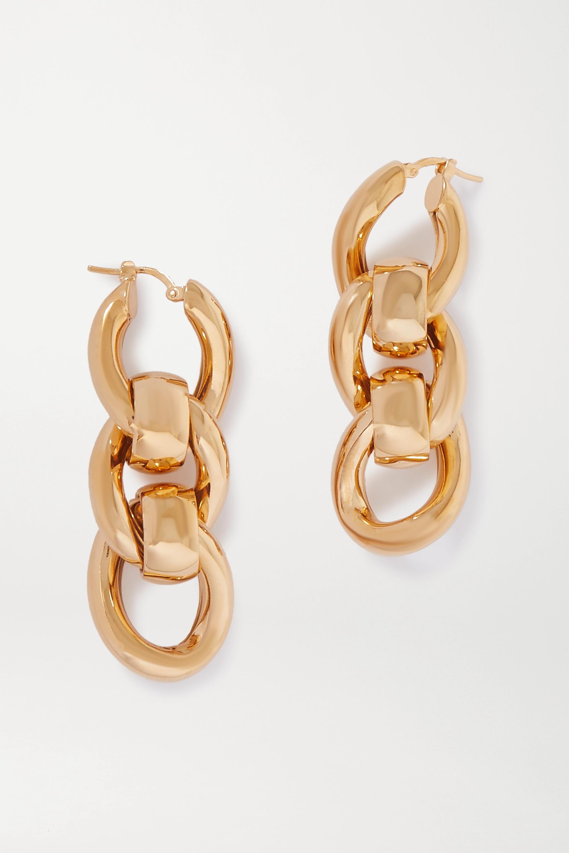 Gold-tone earrings by Bottega Veneta, available on net-a-porter.com for $690 Kylie Jenner Jewellery Exact Product