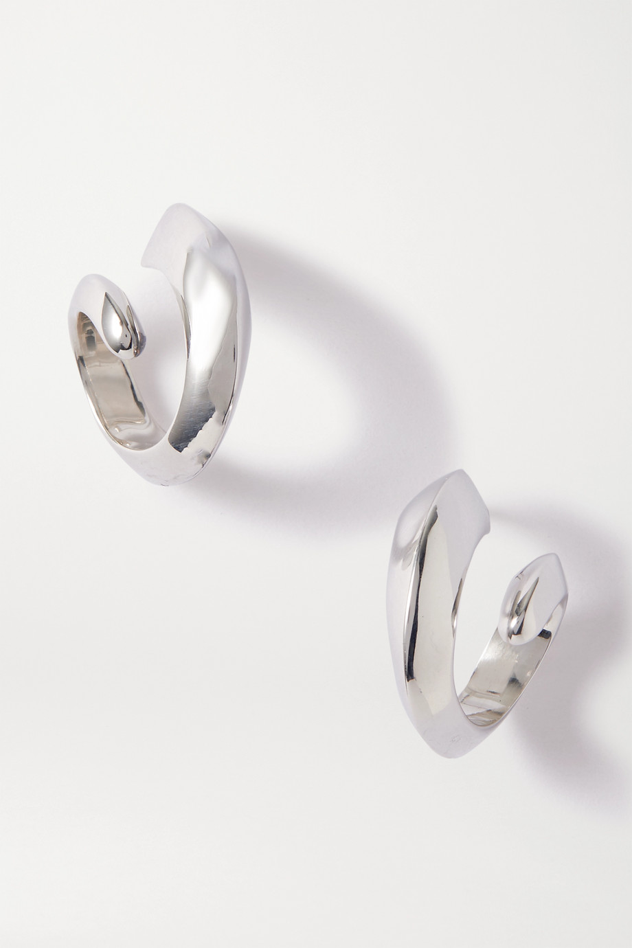 Bottega Veneta Silver-tone earrings
