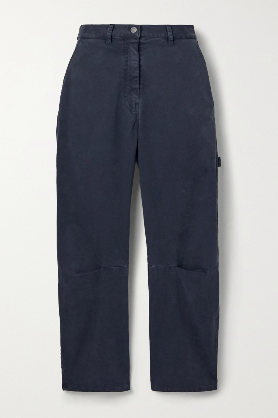 Nili Lotan Carpenter cotton-blend twill tapered pants