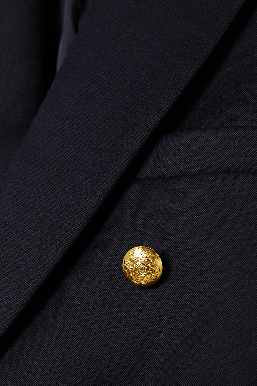 Nili Lotan Blazer à double boutonnage en serge de laine Henry
