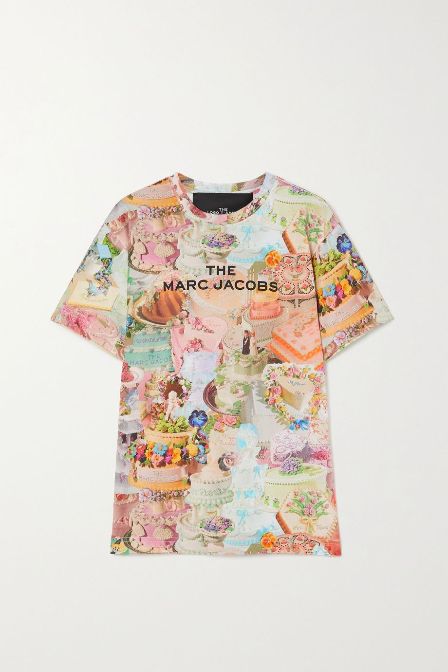 THE Marc Jacobs Printed cotton-jersey T-shirt