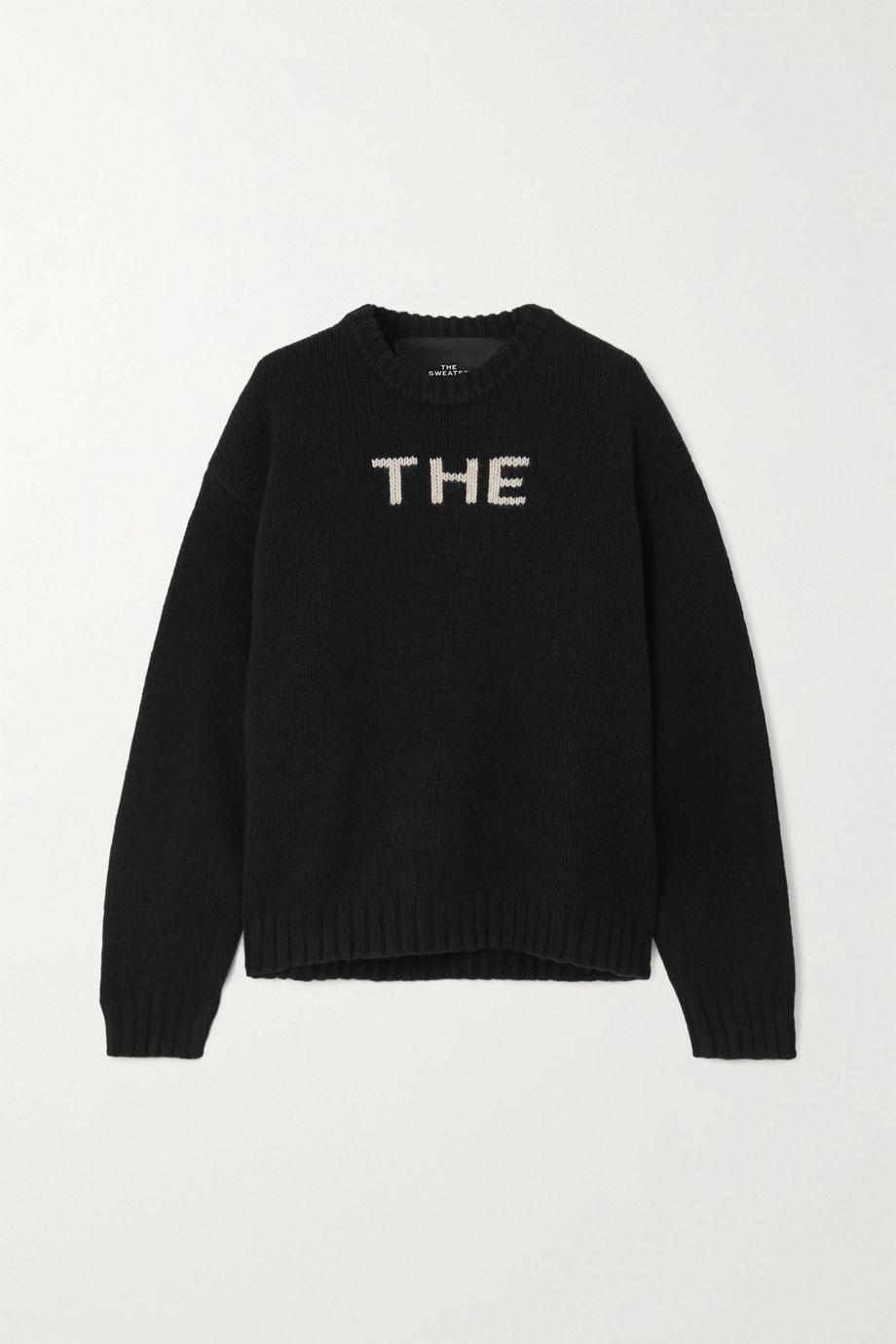 THE Marc Jacobs Pullover aus Jacquard-Strick aus einer Wollmischung