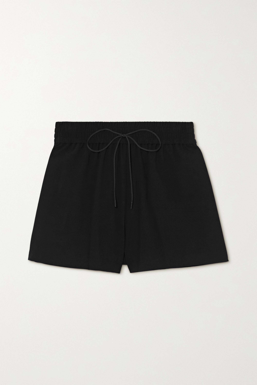 Alice + Olivia Carson crepe shorts
