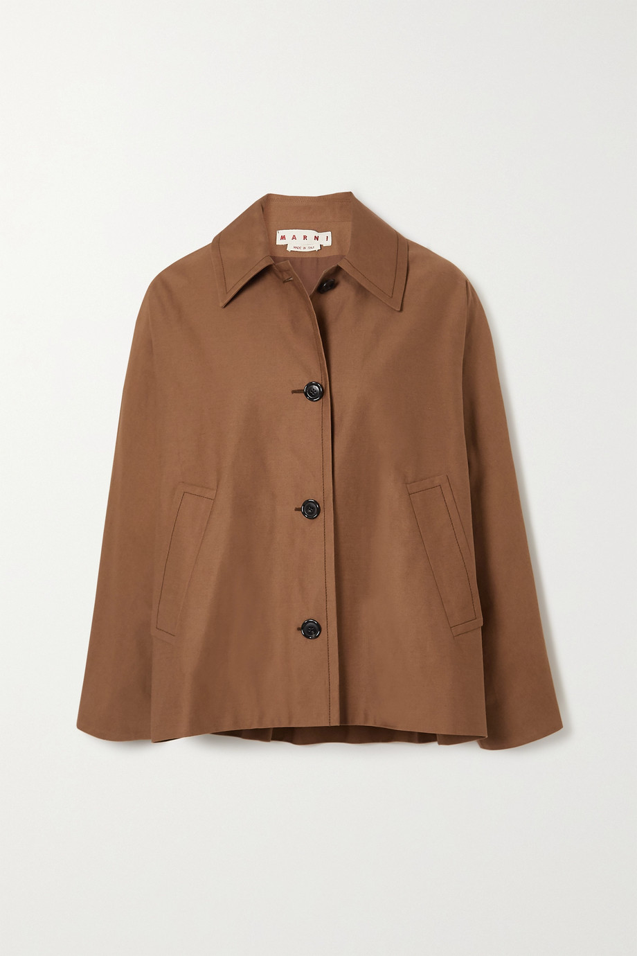 Marni Cotton and linen-blend jacket