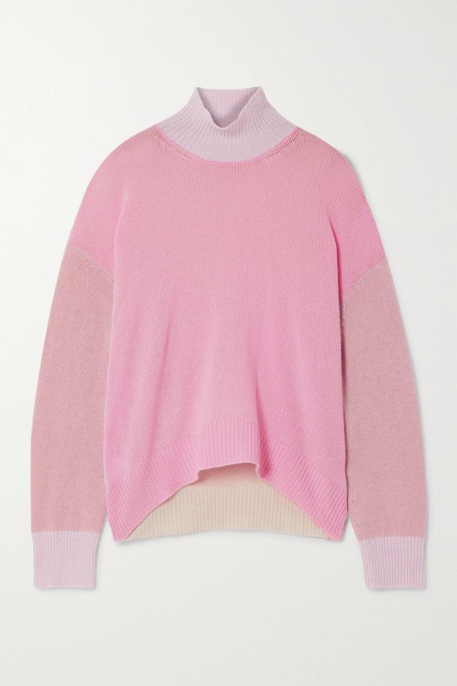 Marni Color-block cashmere sweater