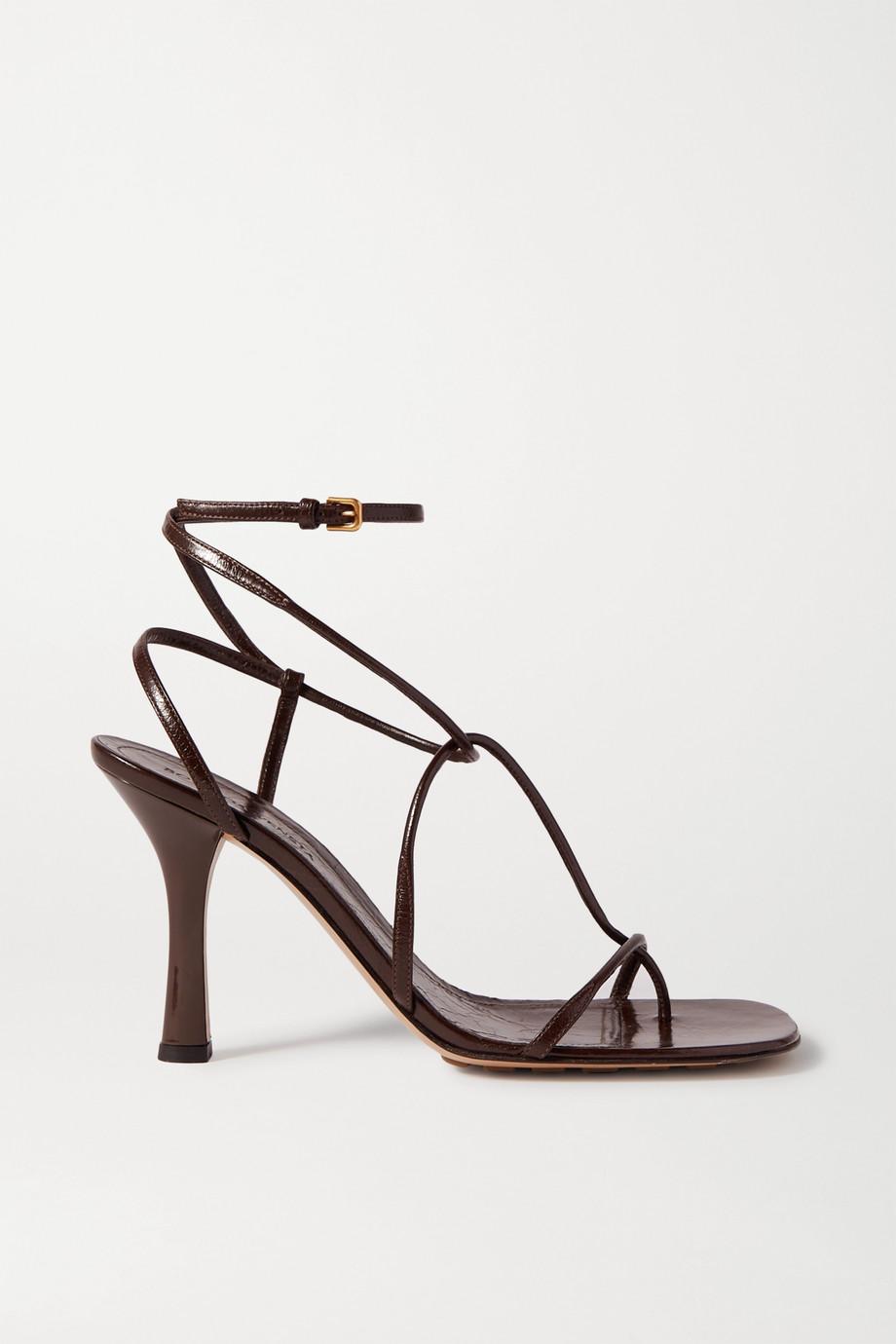 Bottega Veneta Sandalen aus Leder