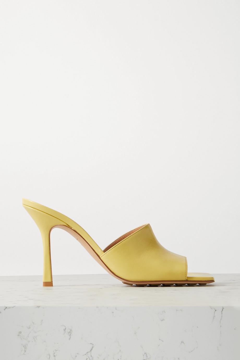 Bottega Veneta 皮革穆勒鞋
