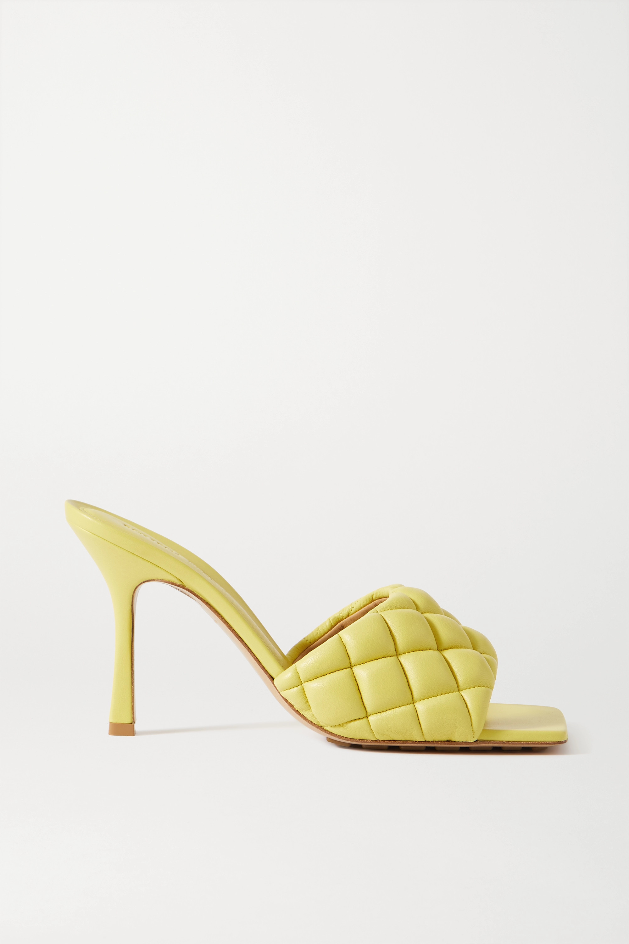 Bottega Veneta Quilted leather mules