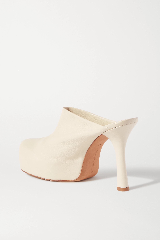 Bottega Veneta Leather platform mules