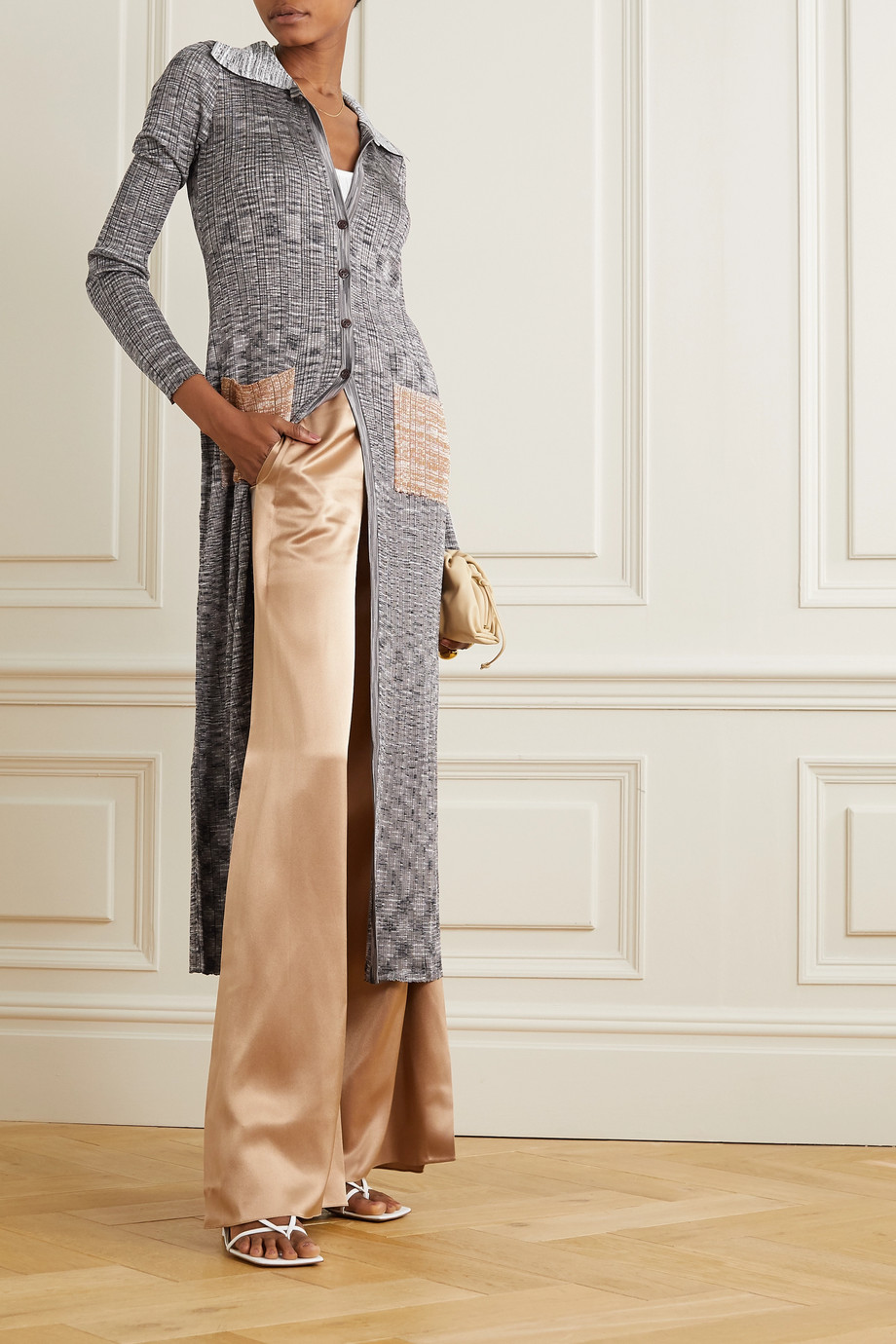 Missoni Space-dyed crochet-knit cardigan