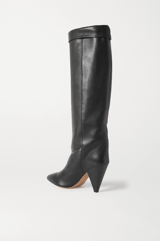 Isabel Marant Loens leather knee boots
