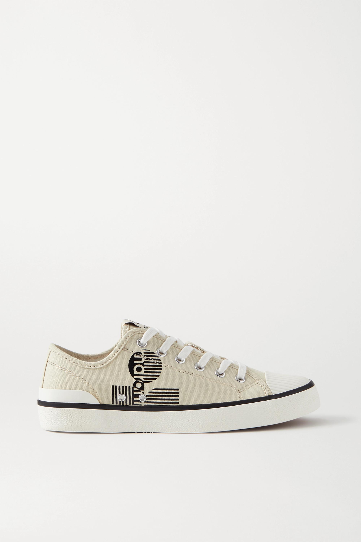 Isabel Marant Binkoo logo-print canvas sneakers