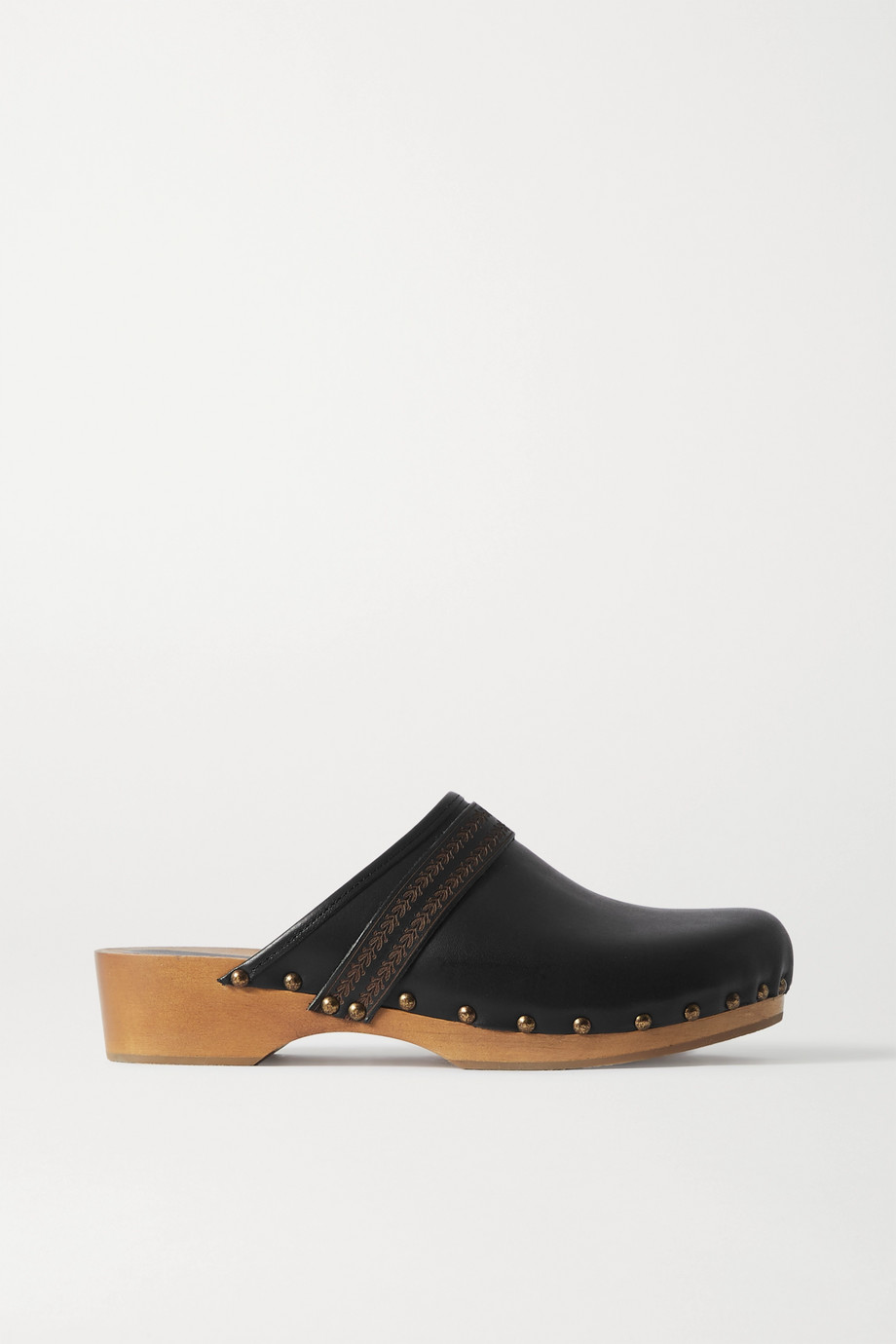Isabel Marant Thalie studded leather clogs