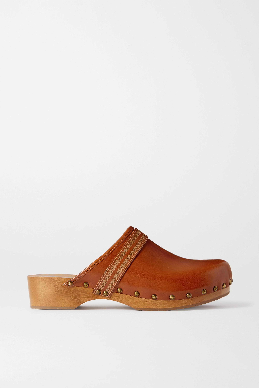 Isabel Marant Thalie studded leather clogs