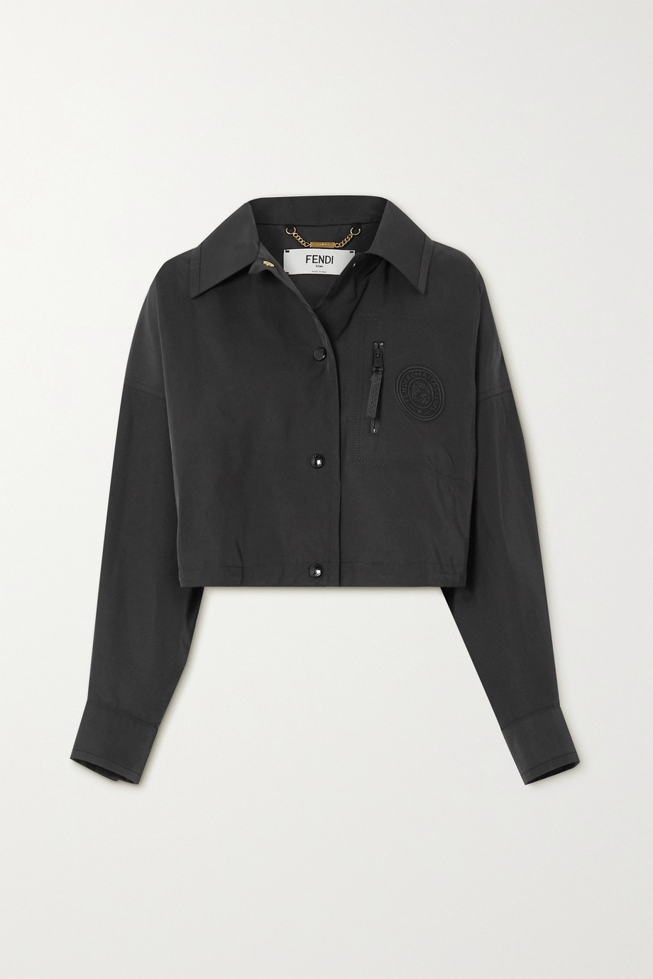 Fendi 斜纹布短款外套