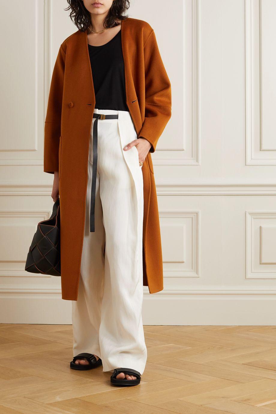 Ulla Johnson Gwyneth belted wool-felt coat