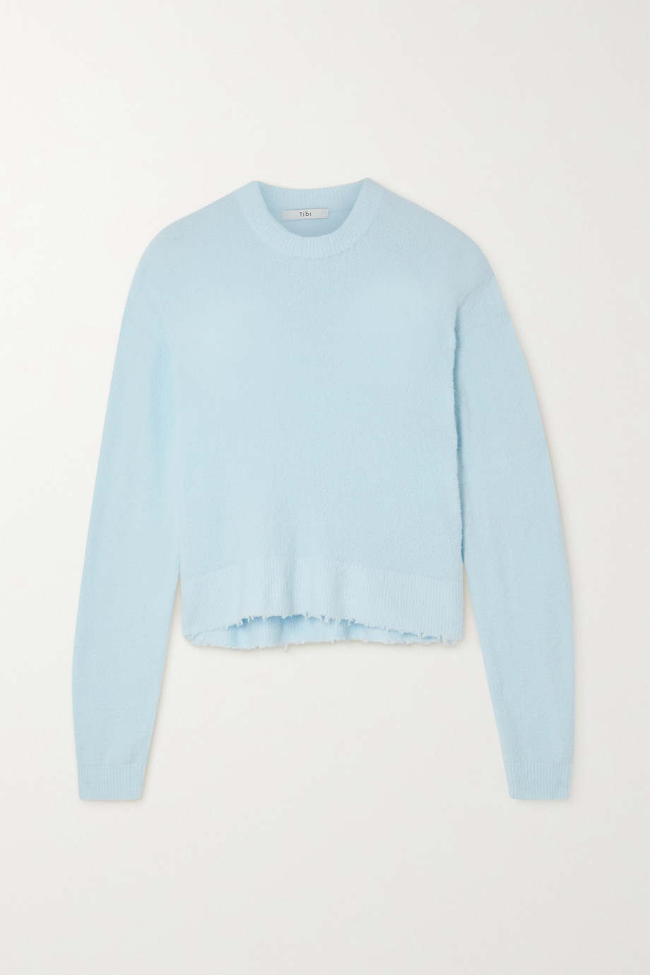 Tibi Distressed knitted sweater