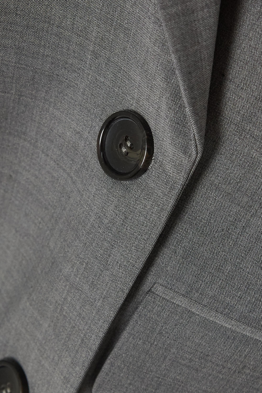 Tibi Double-breasted woven blazer
