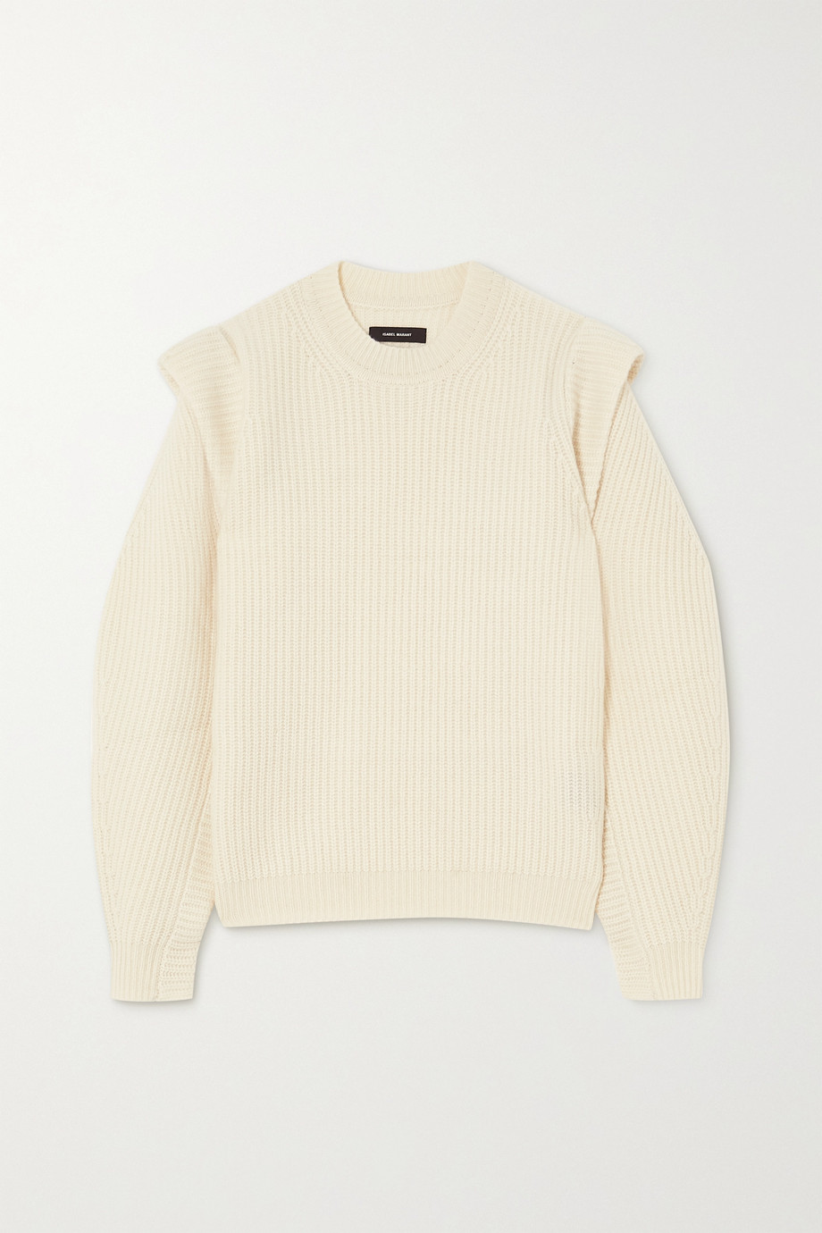Isabel Marant Bolton ribbed cashmere and wool-blend sweater