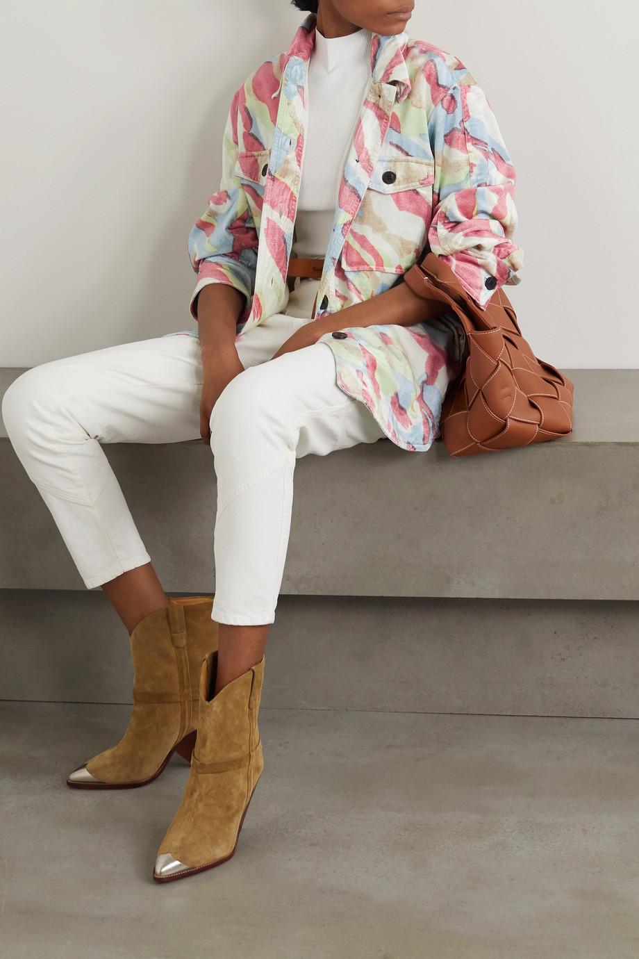 Isabel Marant Hacayo printed cotton-blend jacket