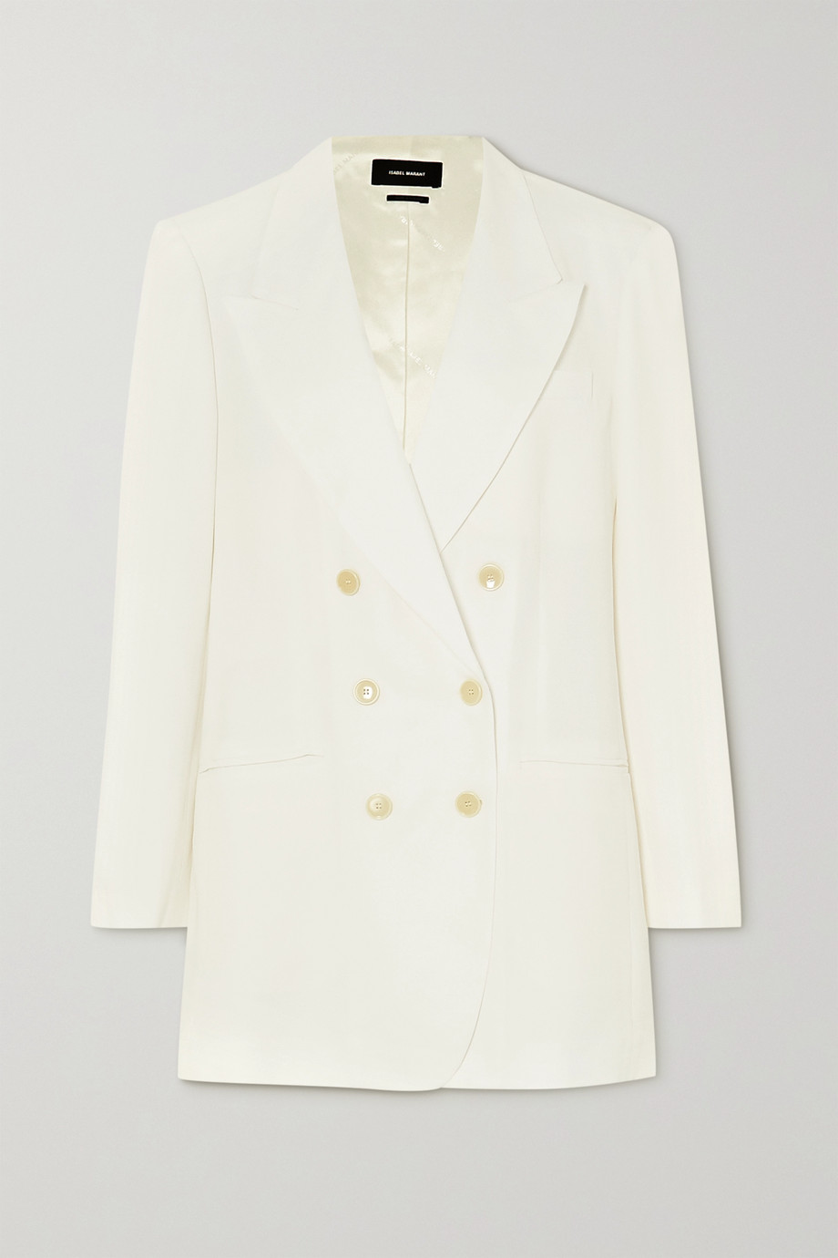 Isabel Marant Rami double-breasted crepe blazer