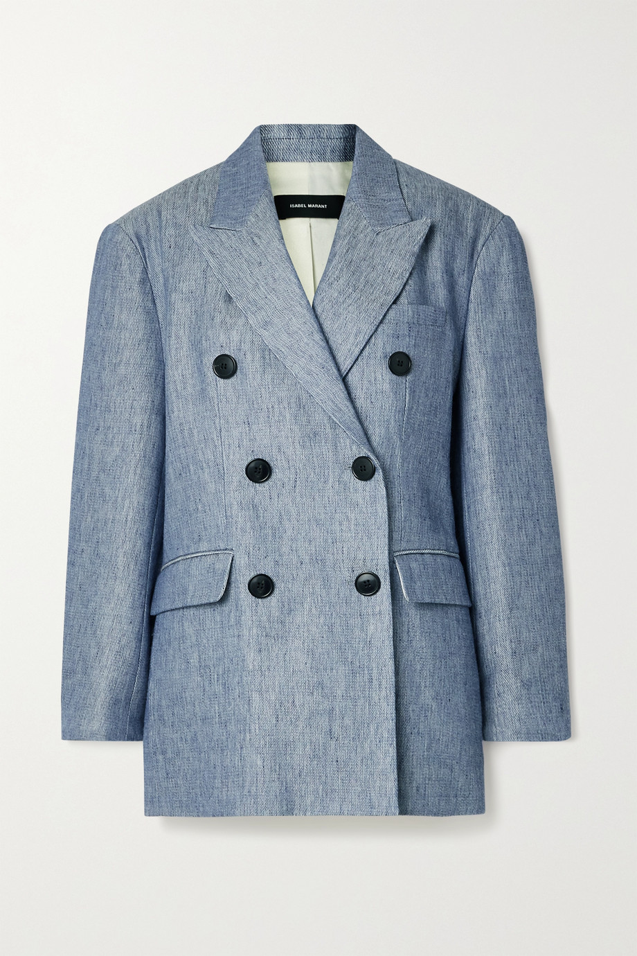 Isabel Marant Lhermine oversized double-breasted wool-blend blazer