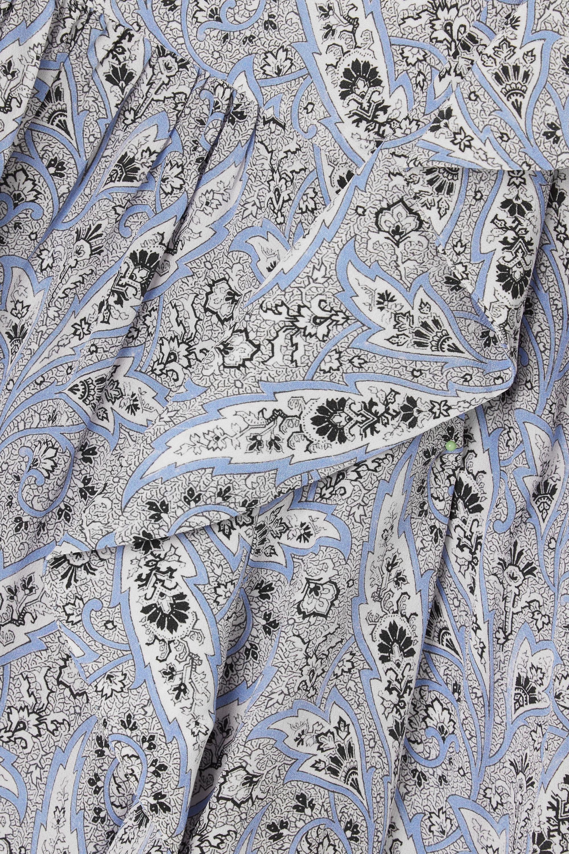 Isabel Marant Blouse en crêpe de Chine de soie à imprimé cachemire et à volants Barida