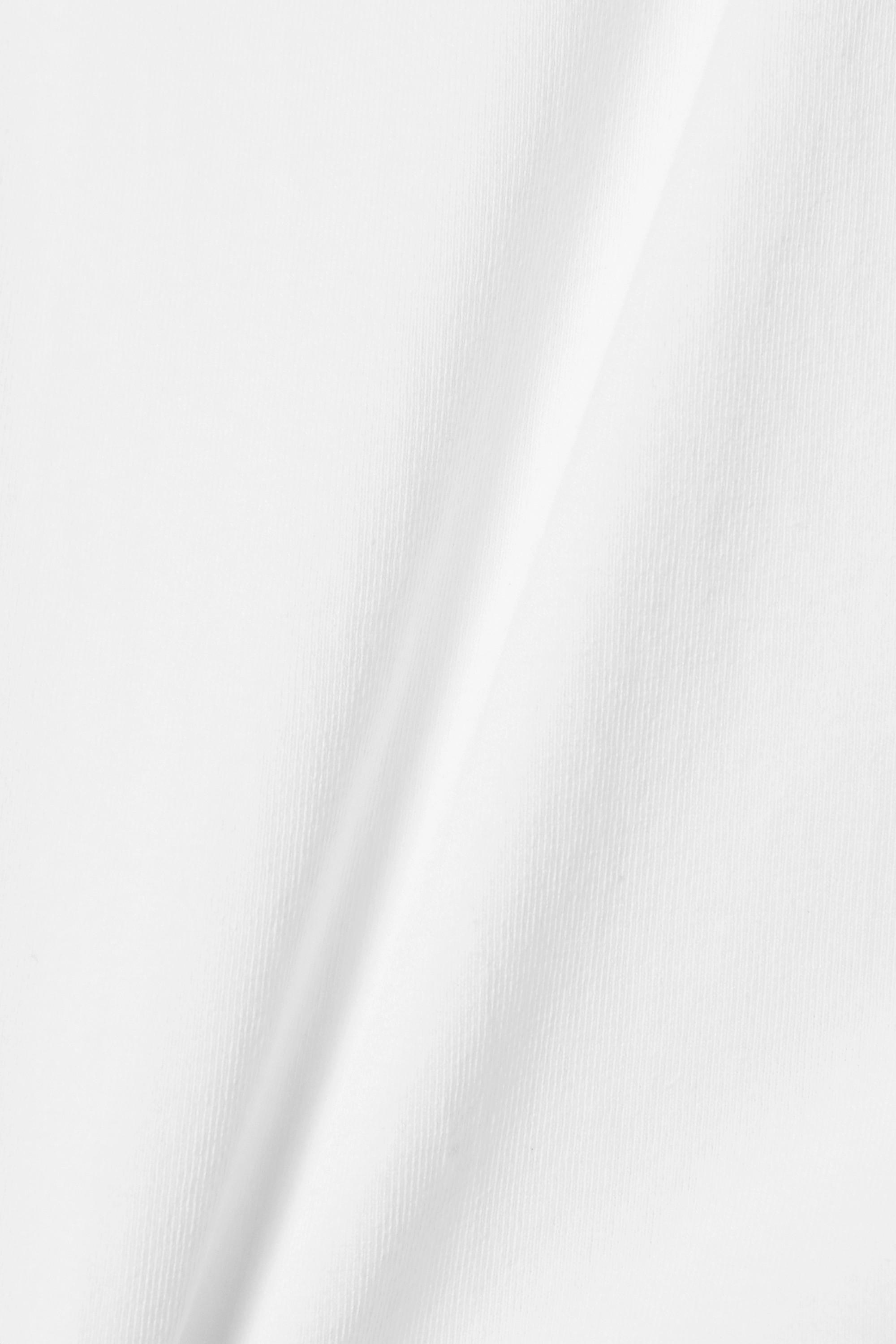 Isabel Marant Belita tie-front cotton T-shirt