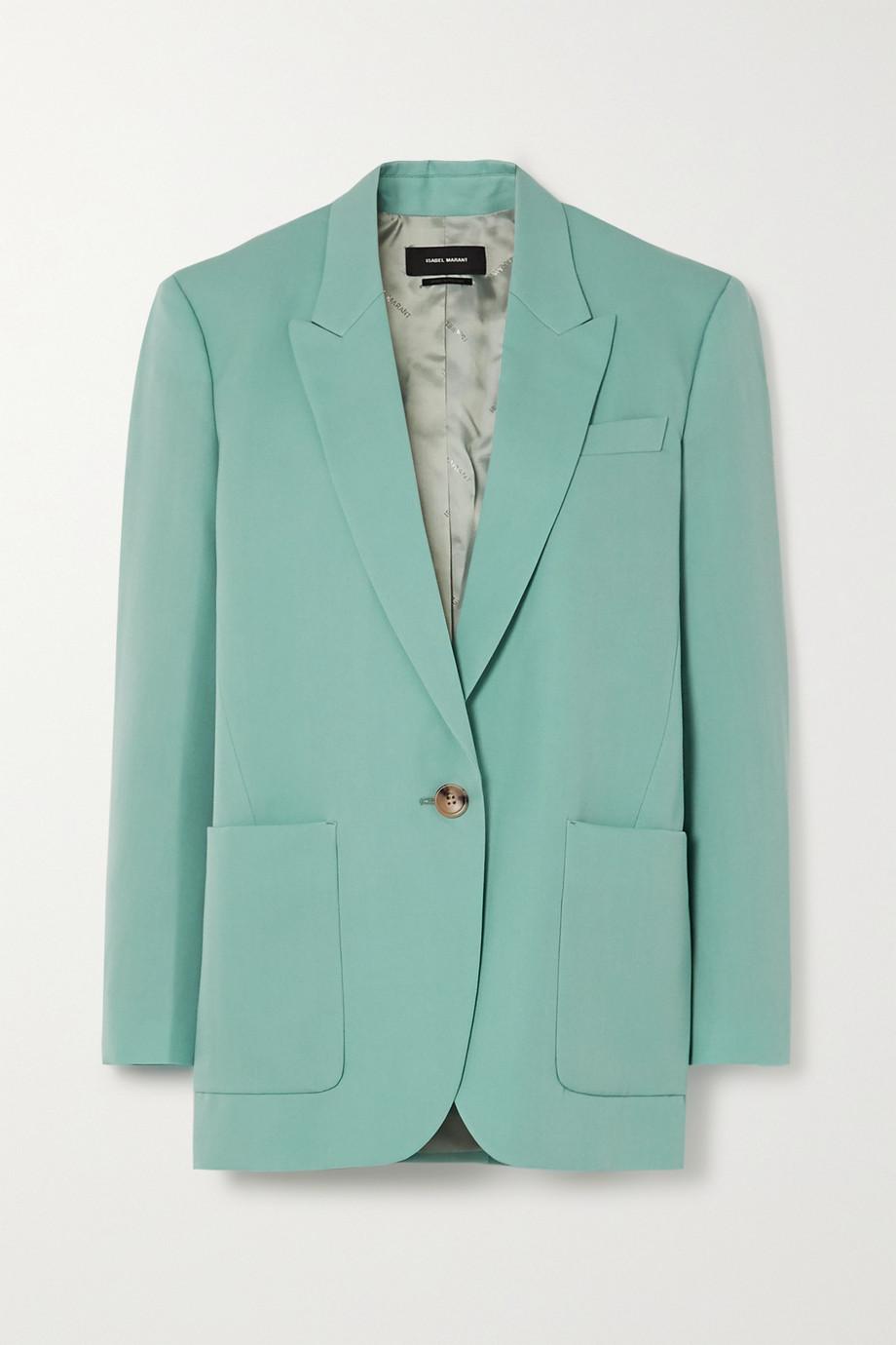 Isabel Marant Lindaya wool-twill blazer