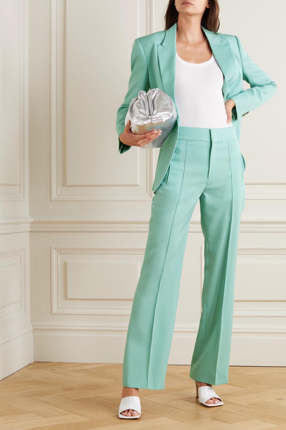 Isabel Marant Lokia wool-twill straight-leg pants