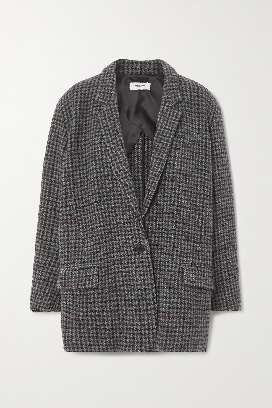Isabel Marant Étoile Kaito houndstooth wool-tweed blazer