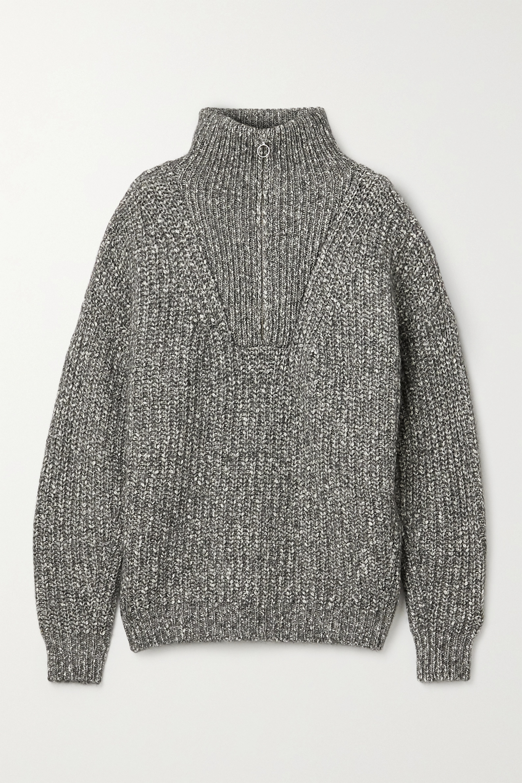 Isabel Marant Étoile Myclan ribbed cotton-blend sweater