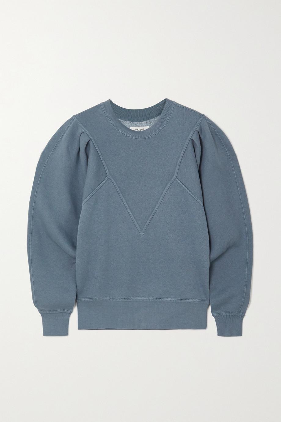 Isabel Marant Étoile Tadelia cotton-blend jersey sweatshirt