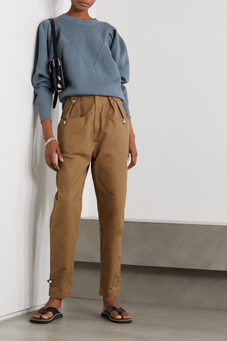 Isabel Marant Étoile Tadelia Sweatshirt aus Jersey aus einer Baumwollmischung